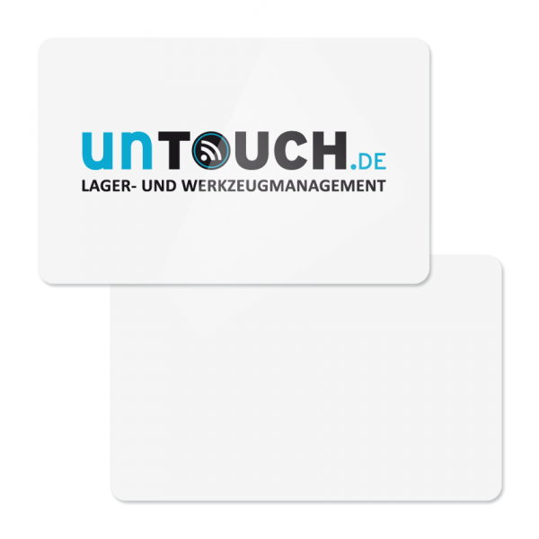 UnTouch Person Tag in credit card format